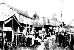 scierie besson 1920